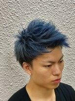 ビューティーボーイ ヤマグチ(BEAUTY BOY Yamaguchi)ジェットモヒカン×青髪