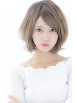デイズ(days)アッシュベージュデザインカラー小顔マニッシュショートボブ美髪