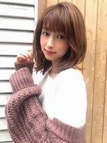 カヤックバイハニー 渋谷店(KAYAK by HONEY)【KAYAK渋谷】小室 20代30代大人可愛い外ハネミディ