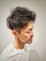 トコヤ ニュースタンダード オブ メンズヘアサロン(tokoya)メンズアップバングショート tokoya江ヶ崎