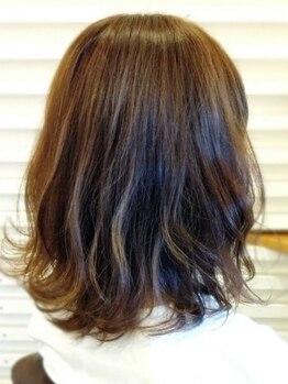 グラヴィティヘア(Gravity hair)の写真/朝のセット/スタイリングが楽になる再現性の高いstyleが大人気♪あなたのライフスタイルに合わせてご提案★