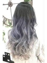 ヘアーサロン エール 原宿(hair salon ailes)(ailes 原宿)style419 デザインカラー☆アッシュグレー