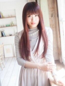 モニカ 横須賀中央店(Monica)の写真/〔CUT+縮毛矯正¥7900〕髪へのダメージを考慮した縮毛矯正で、風になびく綺麗な潤い髪へ♪【横須賀中央】