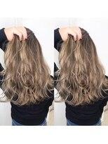 ヘアアンドビューティー クローバー(Hair&Beauty Clover)根元black × beige