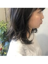 アルマヘアー(Alma hair by murasaki)オーダーしやすいセミディロブ