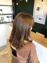 アミィヘアー(Ami Hair)セミロブ×クリアベージュカラー