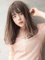 ヘアサロン ガリカ 表参道(hair salon Gallica)《SAKI》ヘルシー♪小顔ワンカールミディアムbob☆
