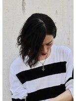 メンズヘアースパイス ユメサキ(Men's Hair SPICE -yumesaki-)ボブ×スパイラルパーマ