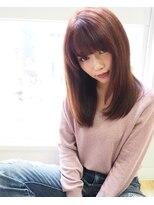ヘアーブランド リンク 三宮店(HAIR BRAND Link)【Link】Dollyピンクセミディ