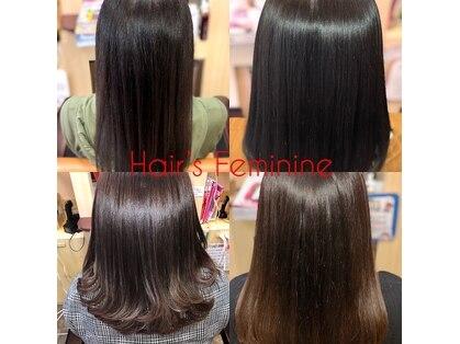 ヘアーズ フェミニン 中山店(Hair's Feminine)の写真