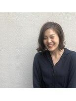 アルマヘアー(Alma hair by murasaki)スタインリングが楽チン外ハネボブ