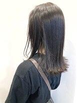 ティルヘアー(TiLL HAIR)暗髪 アッシュグレー×N.オイル 透明感