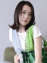 オーブ ヘアー リンク 葛西店(AUBE HAIR link)【AUBE HAIR】艶髪_くせ毛風_外ハネスタイル