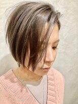 マハナ(Mahana by hair)♯クールショートボブ