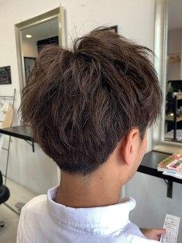 オルサヘアー(ORSA HAIR)の写真/【多治見】男性は見た目が大事!カットライン1mmの差が印象を変える。ON・OFF楽しめるスタイルを提案☆