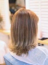 リビーチ ヘア リゾート 赤羽(Rebeach HAIR RESORT)【リビーチ】外国人風ホワイトグレージュ グラデーションカラー