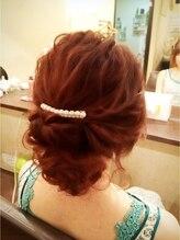 ヘアーメイクアンドネイル マカロン(hair make&nail Macaron)なみウェーブアップ ルーズクラシカル