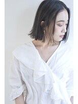 ボヌール 西梅田店(Bonheur)【女性stylist杉崎】色っぽオトナボブ