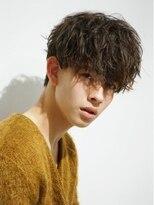 ゴールド 渋谷(GOALD)前下がり、前髪重め、雰囲気系マッシュ