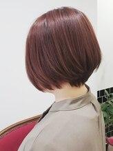 ポルテヘアー(porte hair)大人グラボブ♪