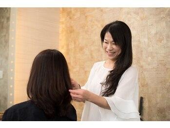 プリエール ド ランジュの写真/米沢市。・頭皮のケア◎。・髪に優しい豊富な詳細を取り扱っているので、様々なご要望にお応えいたします♪