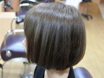 美容室 ディフィアートの写真/ショートヘアは豊富な経験と技術力の信頼できるサロンで♪乾かすだけで決まる上質ヘアを・・・。