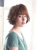 髪質改善と縮毛矯正の専門店 サンティエ(scintiller)外国人風ゆるふわボブ