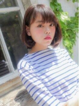 モニカ 横須賀中央店(Monica)の写真/〔フロント縮毛+CUT¥5900〕自宅でも可愛く決まらなきゃ意味がない!そんな思いを叶えます◎【横須賀中央】