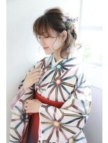 【御茶ノ水 neolive7】 卒業式袴着付け+ヘアアレンジ