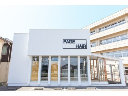 PAGE HAIR 【ページヘアー】