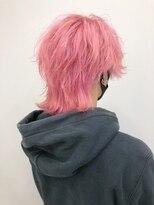 (稲毛)新カラー剤のpuramingoで作るピンク