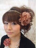 結婚式のふわふわキュートアップ☆画像