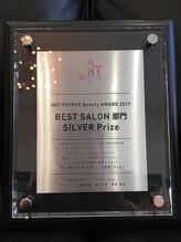 ☆2017HOT PEPPER Beauty AWARD SILVER Prize受賞!!SHINYA HAIRSのこだわりが更に詰まったページ!!