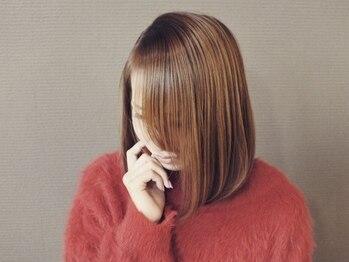 美容室 ディフィアートの写真/【カット+カラー+トリートメント¥8,000!】納得の高い技術力で理想以上の仕上がりに♪長さ料金なし☆