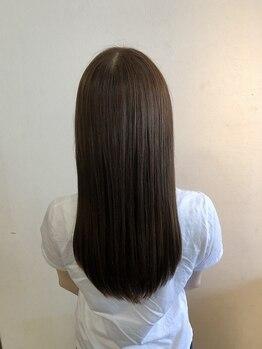 """プシュウ(PUSHW)の写真/<Aujua>公式取扱いサロン☆あなたの髪に合わせた""""オーダーメイド""""のトリートメントで理想の髪へ"""