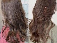 リディアバイアルティナ 中野店(Lydia by artina)の雰囲気(白髪染めもイルミナカラーなら透明感ある美しい仕上がりに♪)