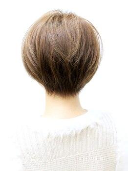 ファルコヘア 練馬店(FALCO hair)の写真/立体感のあるふんわりとした丸みのあるstyleを…♪創り込みすぎないナチュラルな雰囲気が◎