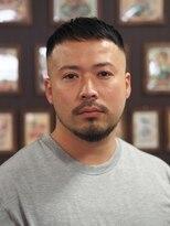 フランクサイドバーン(Frank Sideburns)【barber】スキンフェード・クロップ