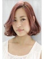 ヘアリゾート ブーケ(hair+resort bouquet)フェミニンボブスタイル