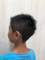 アルファ ヘアー デザイン(alpha hair design)キッズ ソフモヒ