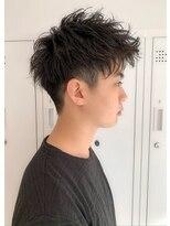 ザ サードヘアー 津田沼(THE 3rd HAIR)爽やかアップバングショート