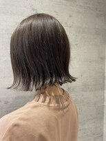 レザボア ヘアーアンドビューティー ハイブ店(reservoir Hair&Beauty Haibe)切りっぱなしボブ