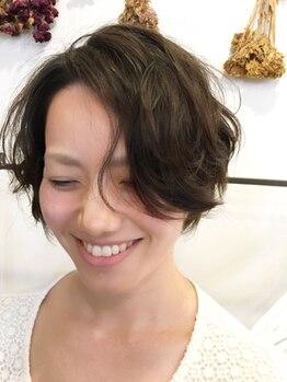 """アレン ヘアメイク(ALEN hair make)の写真/【骨格補正×色彩学×流行】きちんとした理論に基づき、あなたの魅力を最大限引き出す""""ALEN hair make"""""""