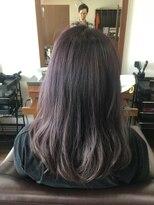 アールピクシー(Hair Work's r.Pixy)アメジストブルー×ダークカラー
