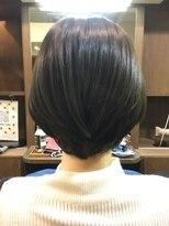 ヘアーメイク プリュム(Hair make Plume)ショートボブ