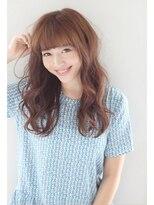 モッズヘア 青葉台店人気の秘密は、、、☆ワイドな前髪+ナチュラルカール☆