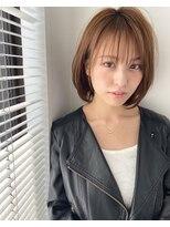 【大人気】ネイビーカラーマニッシュショートフレンチボブ86坂本