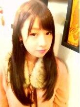 ヘアーサロン ビーンズ(hair salon BEANS)grossy straight-☆