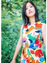 オゥルージュ(Au-rouge noma)【aurouge noma 石井美紗紀】大人可愛い ハイライトロブ