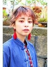ミンカ(MINKA)前髪インナーカラー☆